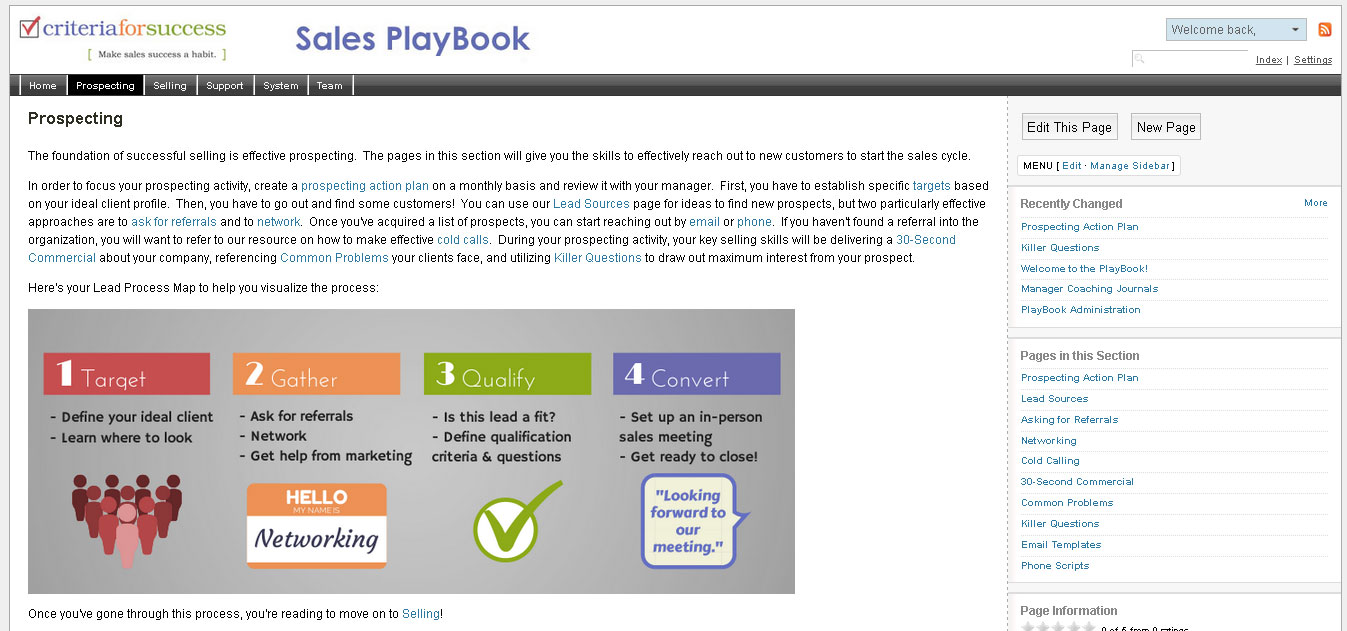 sign up to demo the Sales PlayBook